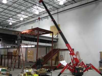 Rental Spydercrane Florida